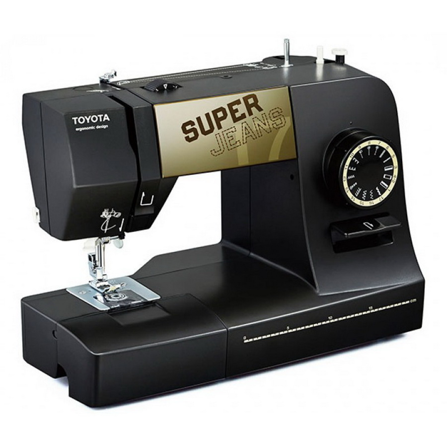 toyota j17 super jeans sewing machine. Black Bedroom Furniture Sets. Home Design Ideas