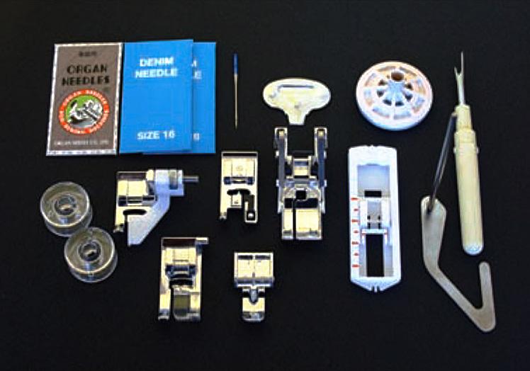 Standard accessories