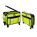 "17"" Tutto Small Carry-On Luggage on Wheels - LIME"