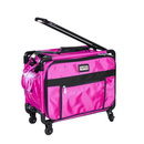 """17"""" Tutto Small Carry-On Luggage on Wheels - PINK"""