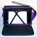 Photo of Tutto XX-Large Machine on Wheels Case - PURPLE from Heirloom Sewing Supply