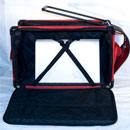 Photo of Tutto XX-Large Machine on Wheels Case - RED from Heirloom Sewing Supply