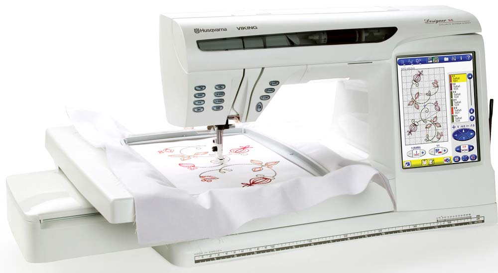Viking Designer SE Limited Edition Embroidery And Sewing Machine Gorgeous Bobbins For Viking Husqvarna Sewing Machine