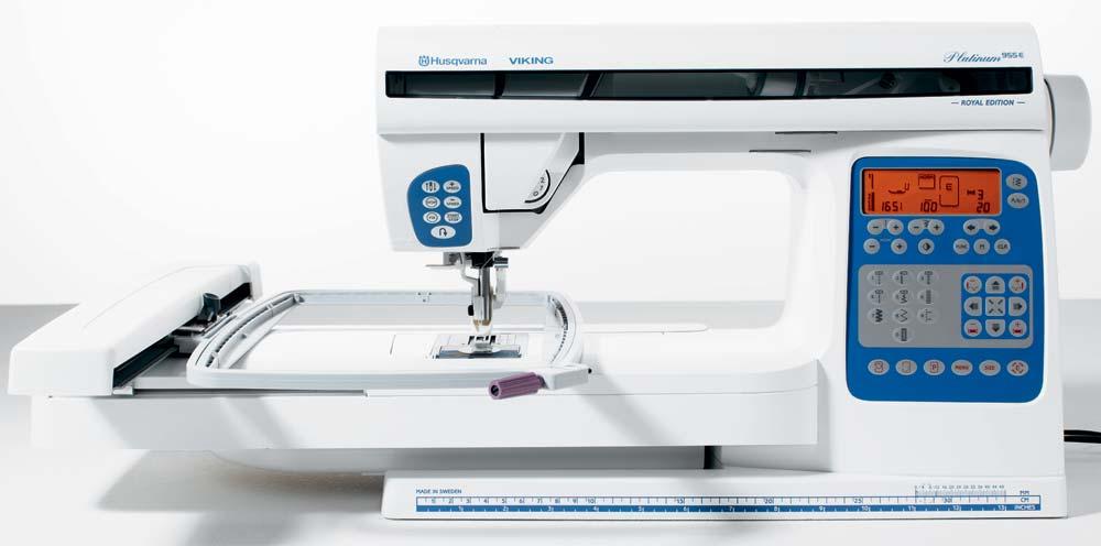Husqvarna Viking Platinum 955e Sewing Machine