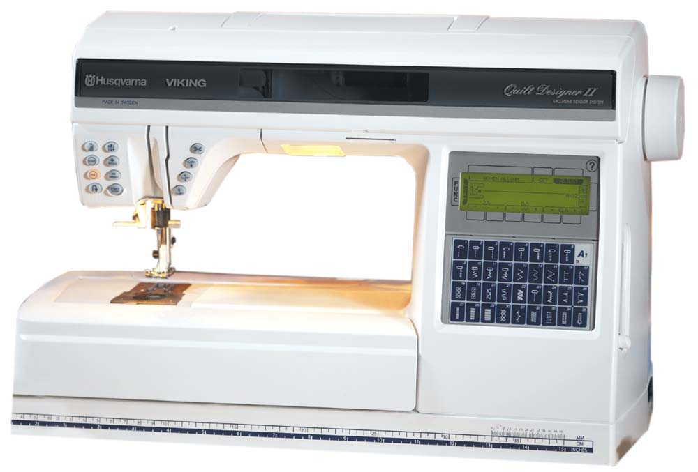 Husqvarna Viking Quilt Designer II Sewing Embroidery Machine Adorable Husqvarna Sewing Machine Sale