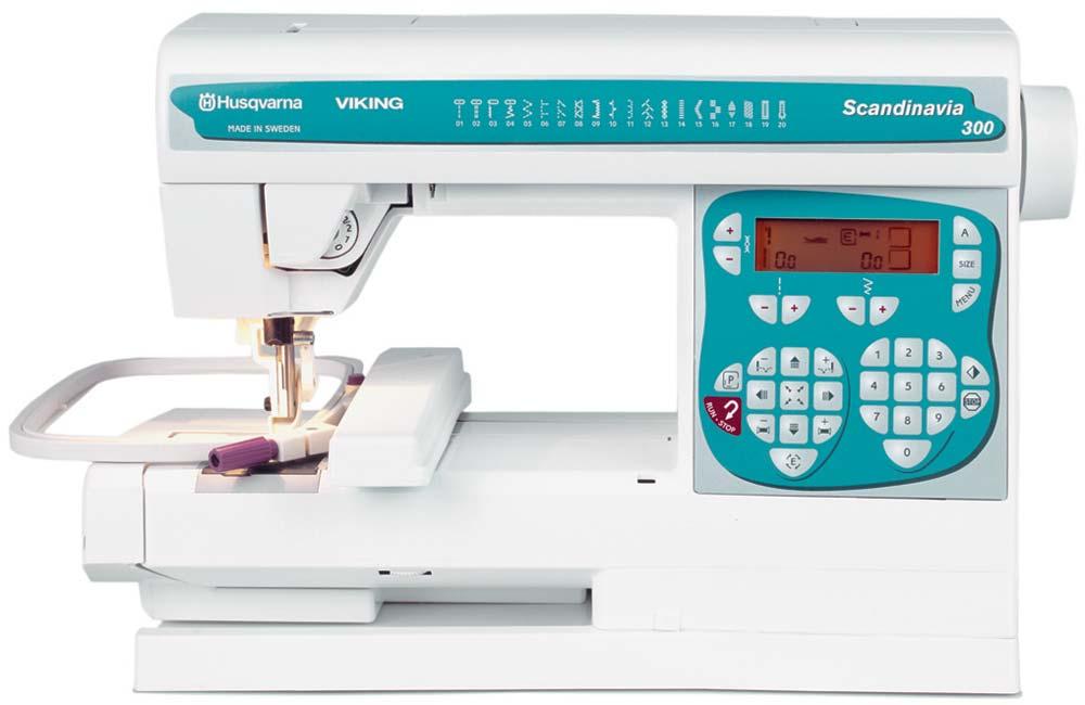 Husqvarna Viking Scandinavia 300 Sewing Machine