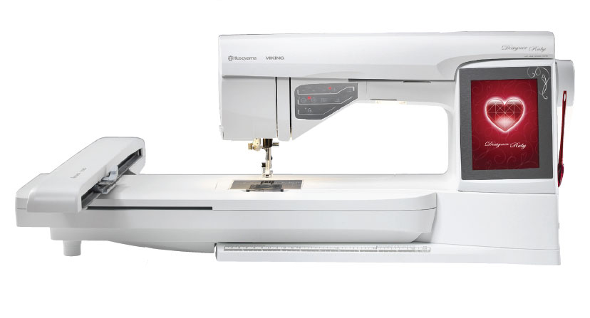 Viking Designer Ruby Sewing And Embroidery Machine Adorable Husqvarna Sewing Machine Sale