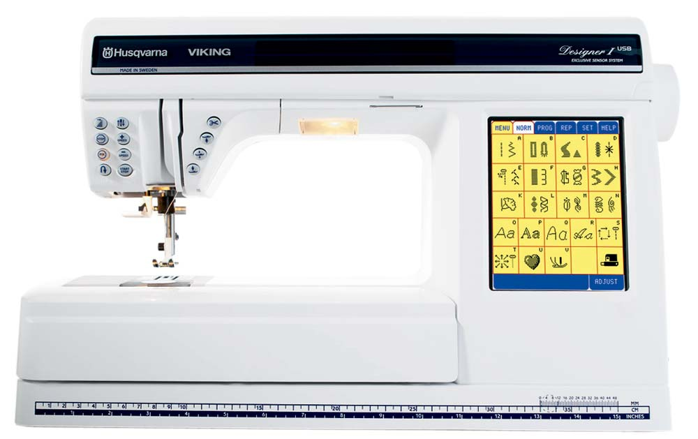 Viking Designer I USB Embroidery & Sewing Machine w/ Embroidery Unit