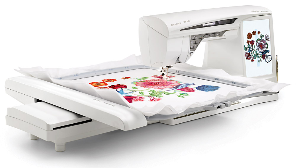 Viking Designer Diamond Sewing And Embroidery Machine Stunning Viking Sewing And Embroidery Machine