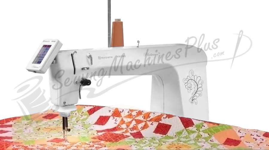 Husqvarna Viking Platinum 40 Longarm Quilting Machine Adorable Sewing Machines Plus