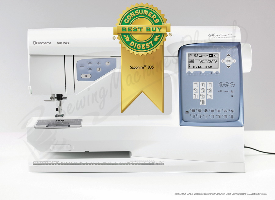 Husqvarna Viking Sapphire 835 Sewing And Quilting Machine