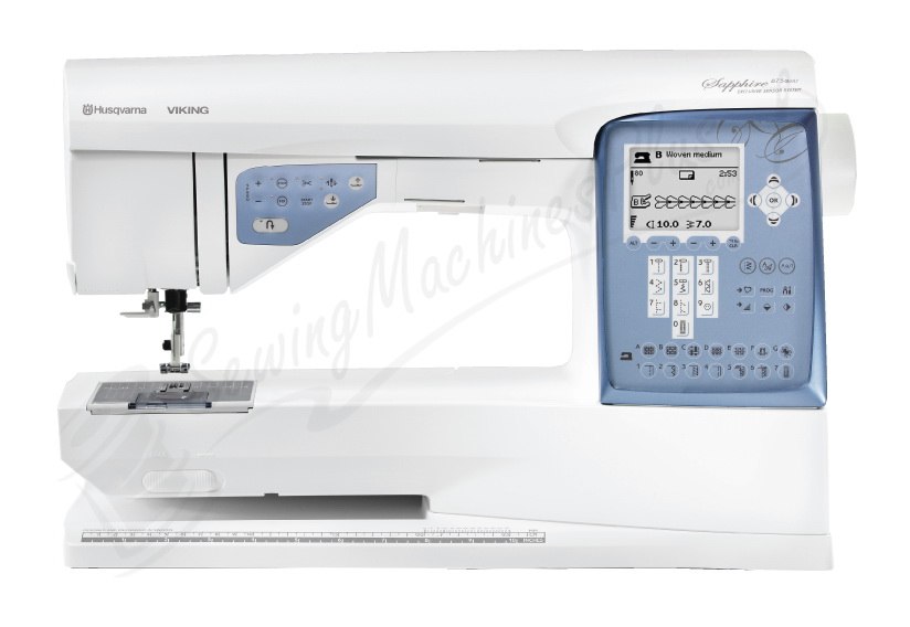 Husqvarna Viking SAPPHIRE 40 Quilt Sewing And Quilting Machine Enchanting Quilting On Regular Sewing Machine