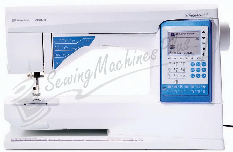 Husqvarna Viking Sapphire 40 Sewing Machine Adorable Sapphire 835 Sewing Machine Review