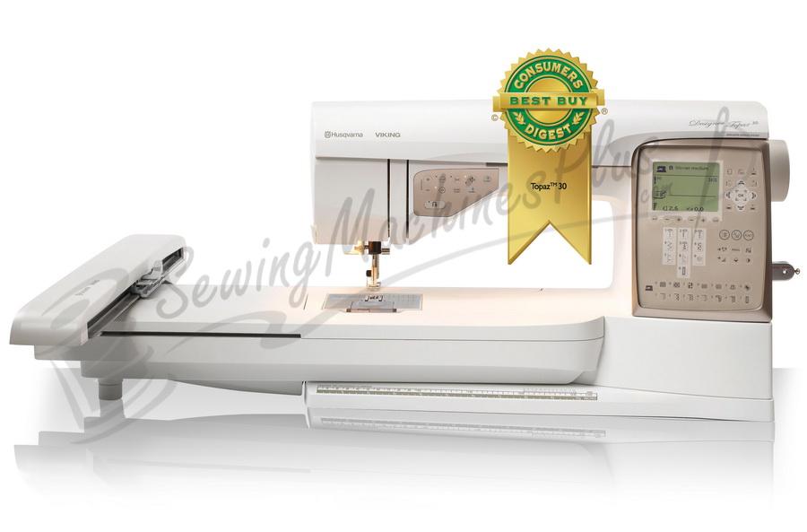 Husqvarna Viking Designer Topaz 30 Sewing and Embroidery Machine