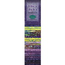 Wilmington Prints Ultra Violet 25 pack - 2.5 inch x 44 inch Strips