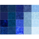 Wilmington Prints Sapphire Sky Fabric Kit - 5 inch Squares