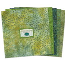 Wilmington Prints Green With Envy Fabric Kit - 10 inch Squares