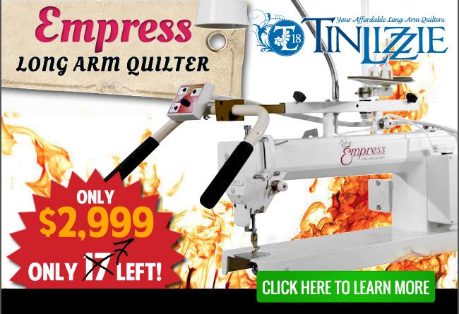 Tin Lizzie 18 Long Arm Quilting Machine w/ Stitch Regulator ... : affordable long arm quilting machines - Adamdwight.com